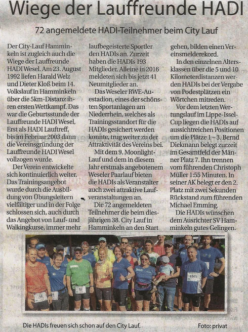 Der Weseler 24.08.2016