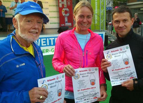 Unsere Kreismeister 2014 Rudi + Anne + Bernd