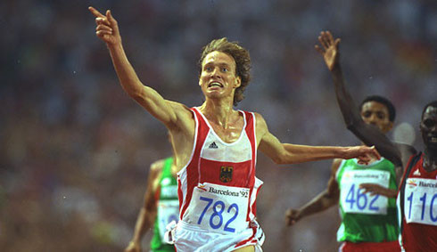 Dieter Baumann ist ein ehemaliger deutscher Leichtathlet und Olympiasieger. Er ist einer der erfolgreichsten Langstreckenläufer der deutschen Sportgeschichte