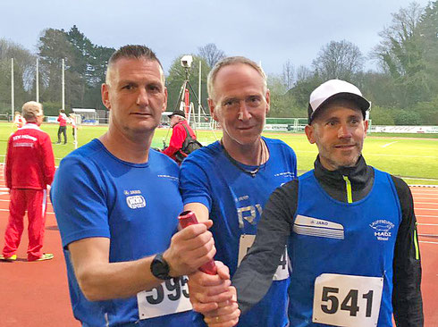 vL: Stefan Bückmann, Klaus Arping, Marcel Lenart