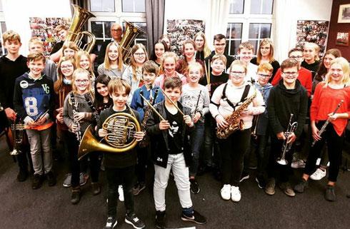 Gruppenfoto Schülerkonzert 24.03.2015