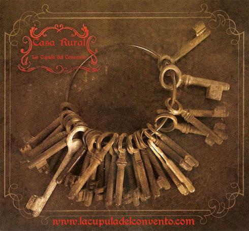 llaves de la casa rural la cupula del convento