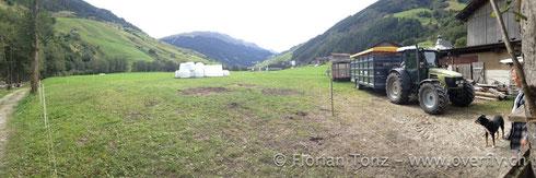 Camp | Blickrichtung: Dorf