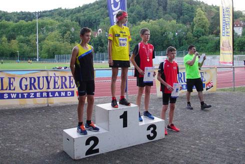 3. Rang für Timon Schuppisser, Diplom für Cyrill Plüss