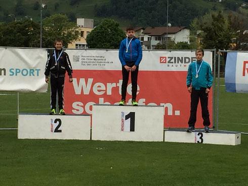 Aaron Müller 1. Rang, Silvan Brügger 2. Rang