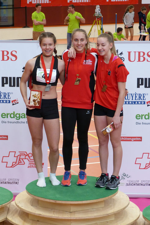 Ariana Brügger - Schweizermeisterin U16 Kugelstossen