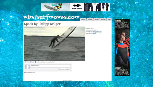 Spock auf windsurfmoves.com