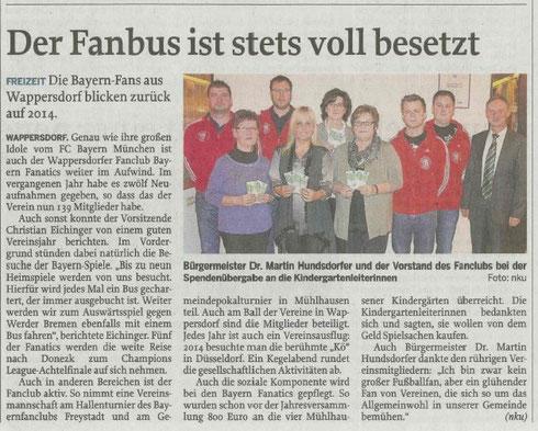 Neumarkter Tagblatt vom 04.02.2015