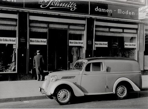 Ford Eifel fourgonnette de 1938