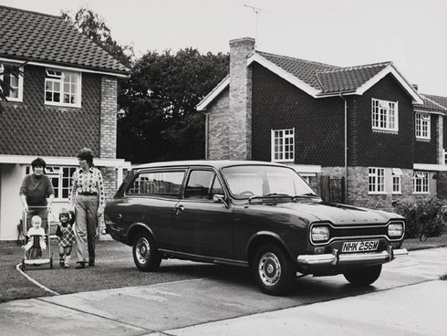 Ford escort break 1968