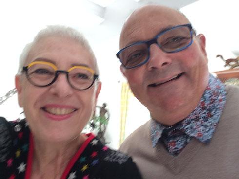 Marie- Odile et Gérard.