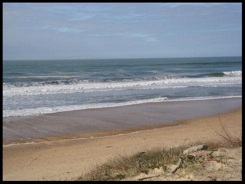 la plage d'Ondres