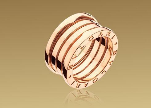 宝格丽B.ZERO1弹簧戒指