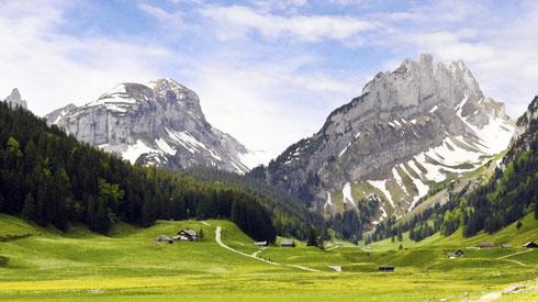德国欧亚商旅 德国美景 德国山峰 阿尔卑斯山脉 德国旅游