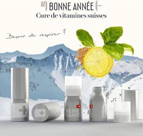 瑞士能量棒 BENEGANIC 美容养颜 清肺排毒 提高免疫