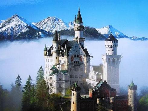 德国欧亚商旅 德国城堡 天鹅堡 德国旅游