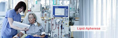 Lipidapherese Lipid apheresis 德国血液净化疗法