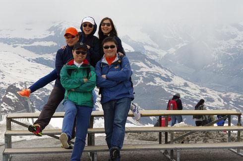 瑞士深度游 瑞士雪山游