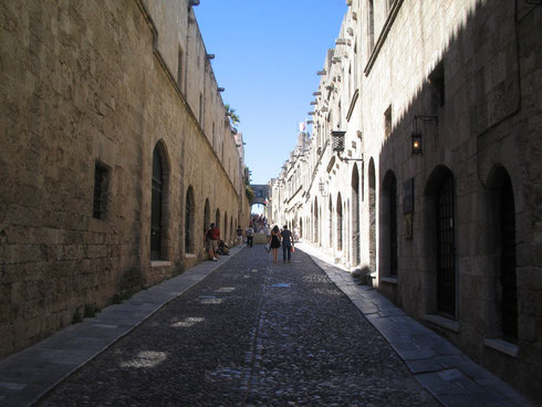 Street of Knights