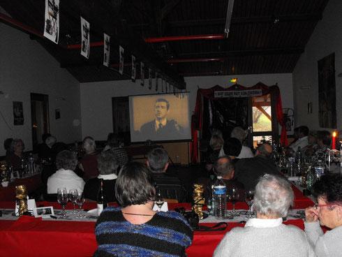 Le repas des Anciens à Saint Vérand avait pour thème le Cinéma
