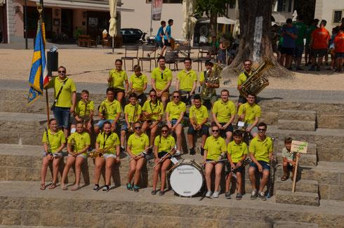 Die Klangschmiede beim Jugendkapellentreffen in Hohenems