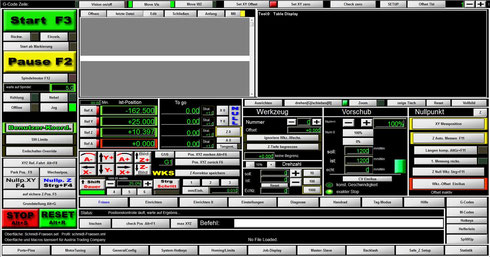 Angepasster MACH3 Screen