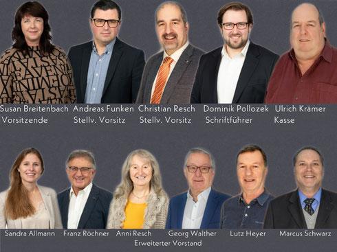 Der Vorstand der CDU Michelstadt