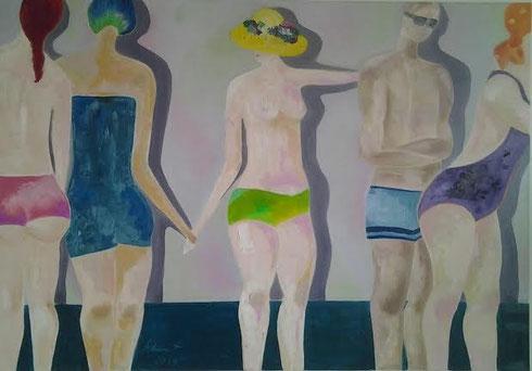 Sommer 2014 Öl auf Leinwand 70 x 100 cm