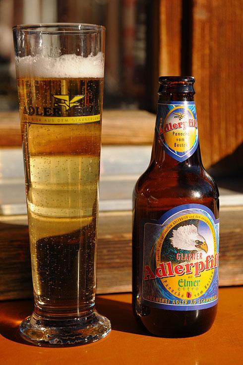 Brauerei Adler - Schwanden - Glarner Adlerpfiff mit Elmer Citro - Panaché