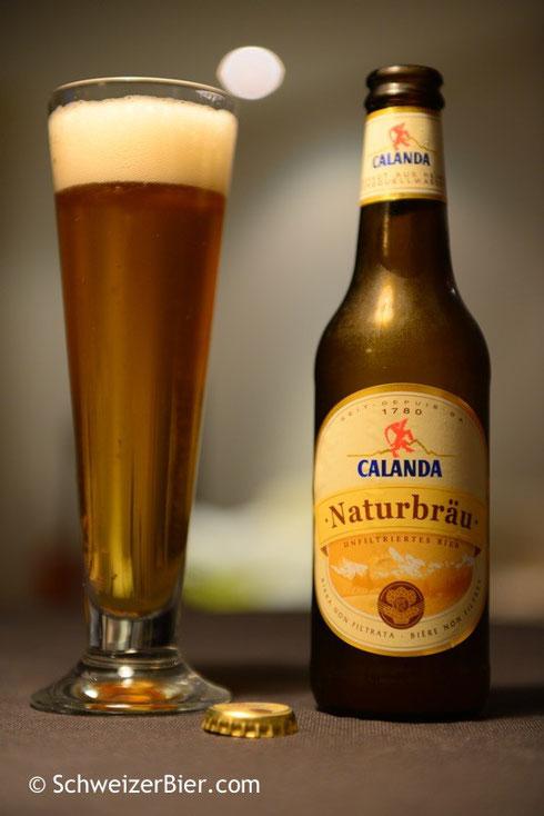 Calanda Naturbräu - Unfiltriertes Bier