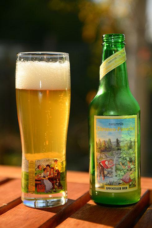 Appenzeller Bier Zitronen-Panaché naturtrüb