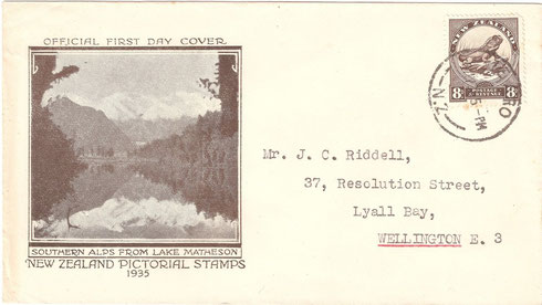 '8d First day cover'