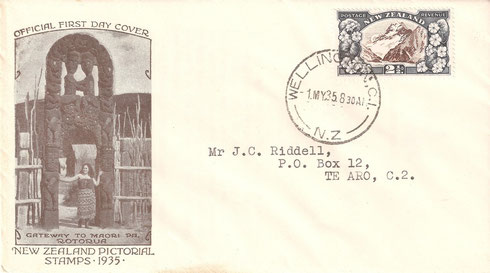 '2 1/2d. First day cover'