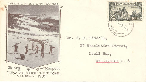 '2/- First day cover'