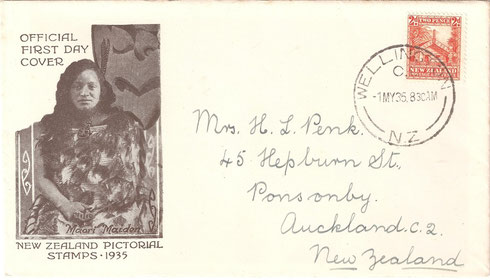 ' 2d.First day cover'