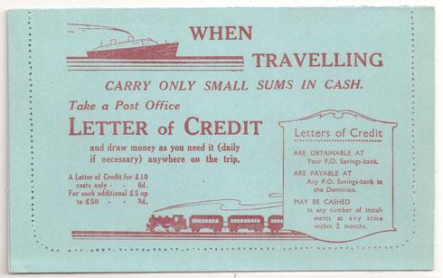 1d.Lettercard Adverts.