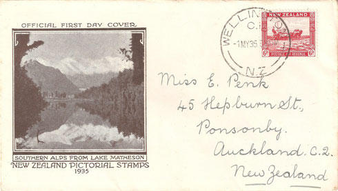 '6d. First day cover'