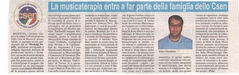 """""""La Voce di Mantova"""" - 06 settembre 2012"""