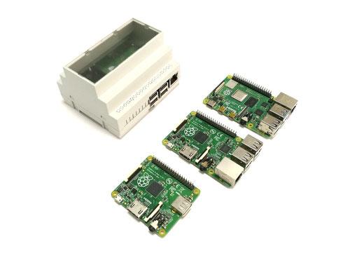Raspberry Pi RasPiBox Hutschiene Gehäuse Schaltschrank