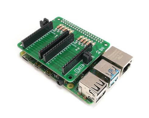 Arduino MKR bridge HAT for Raspberry Pi