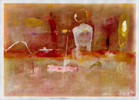 Sogno e tempo, 2012, olio, 99 x 71 cm