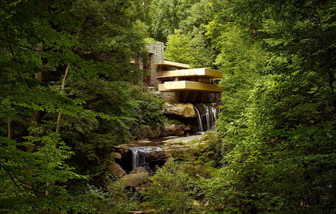 Fallingwater, Bear Run Pennsylvania, Frank Lloyd Wright 1937