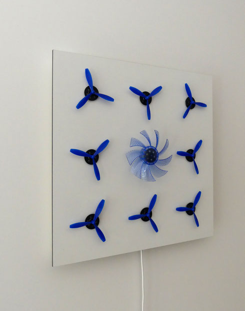 """Blue 8/1"" Konrad Wallmeier"