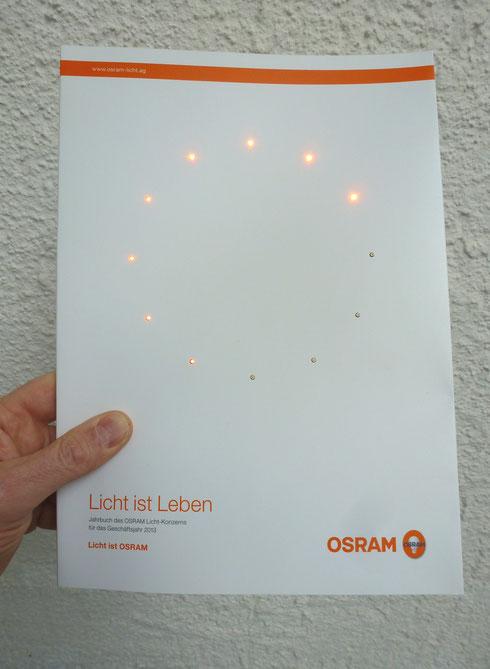 """Licht ist Leben"" Konrad Wallmeier"
