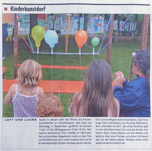 Künstler vor Ort Konrad Wallmeier