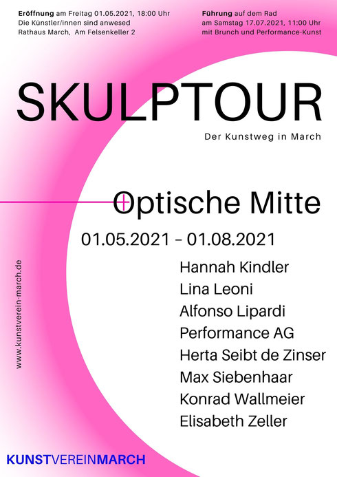 "SkulpTour 2021 "" Optische Mitte"" Konrad Wallmeier"