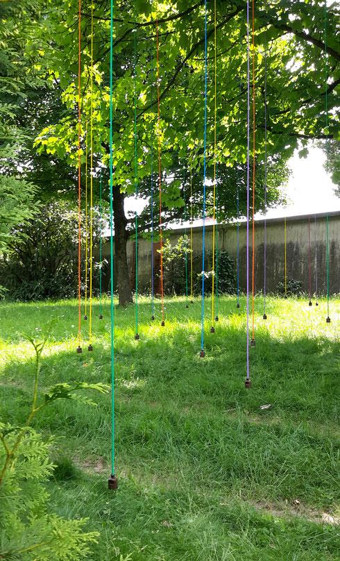 """""""UNPLUGGED"""" Installation von Konrad Wallmeier"""