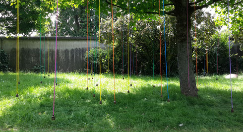 """UNPLUGGED"" Installation von Konrad Wallmeier"