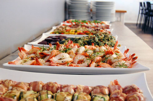 catering and buffet