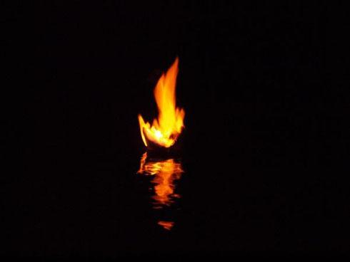 Brander im Modellschiffbecken